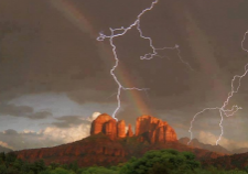 sedona-lightening